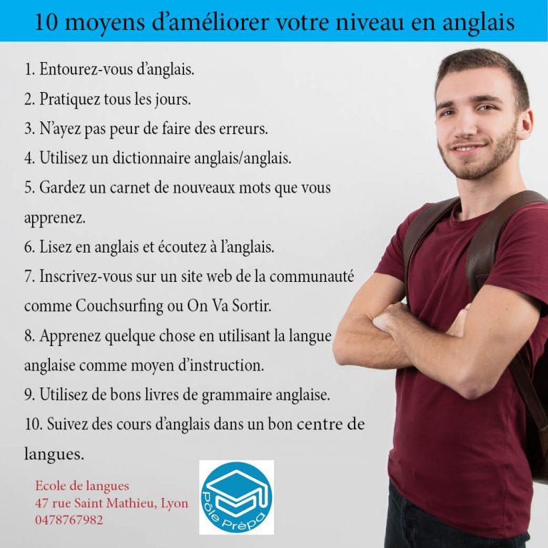 Apprendre l'anglais à Lyon