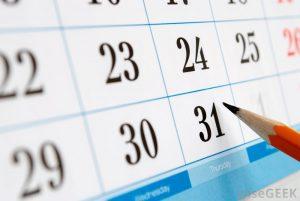 Dates et calendrier d'examen TOEIC, TOEFL, IELTS, Linguaskill.