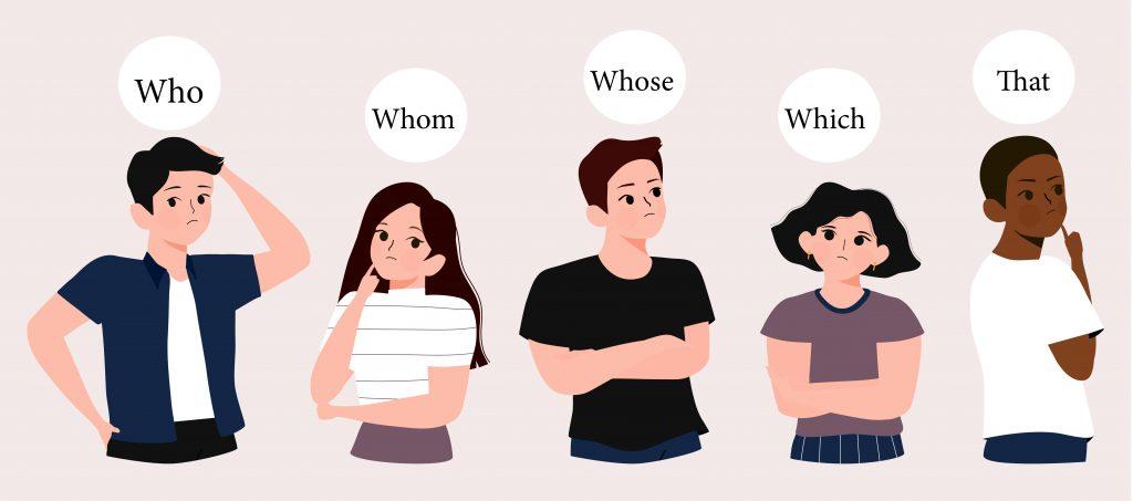 Pronoms Relatifs en anglais et leur équivalent en français