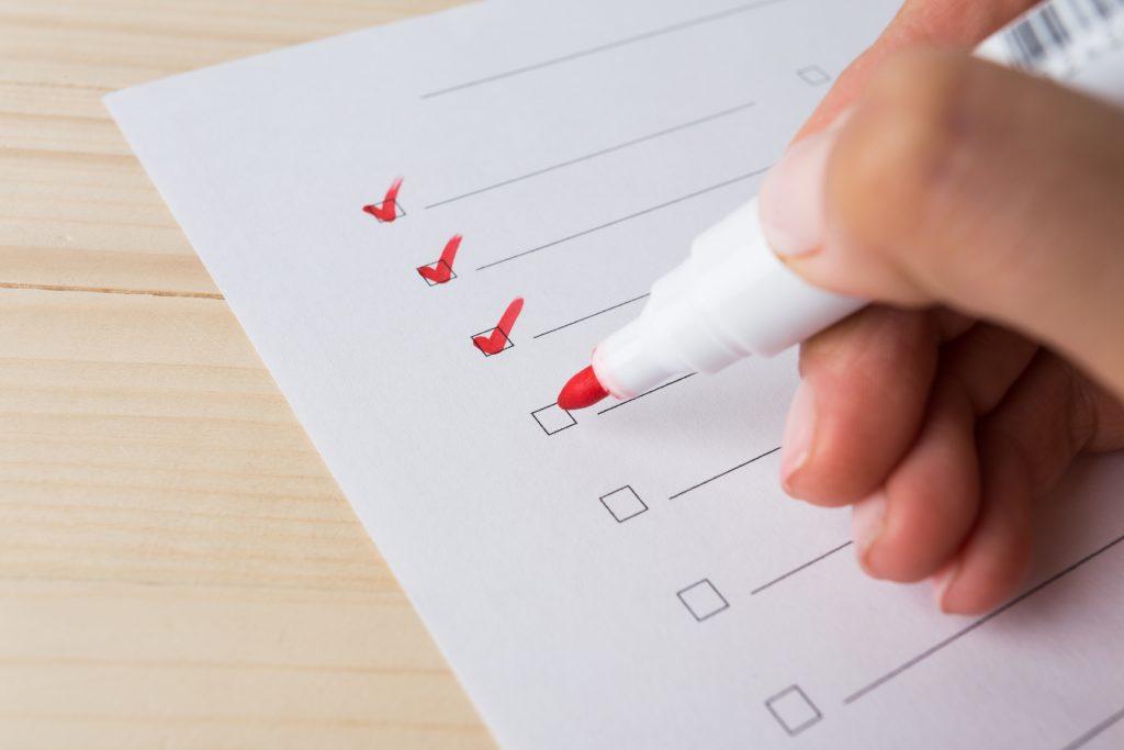 to do list procrastination - planning - organisation